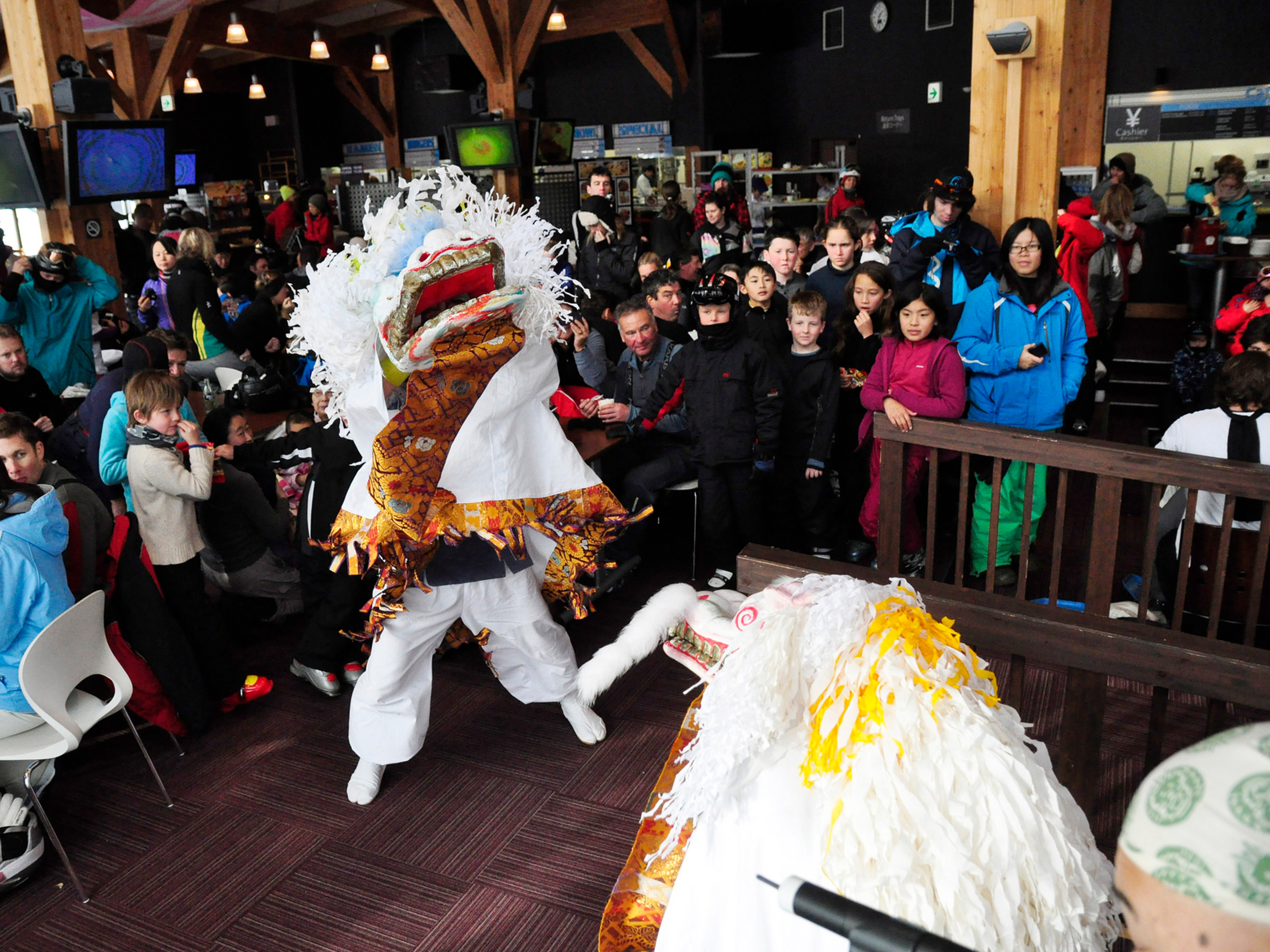 Chinese New Year in Niseko goes off with a bang!