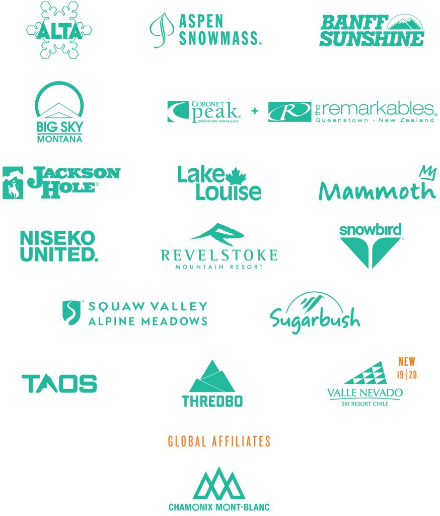 Montain Collective resort list