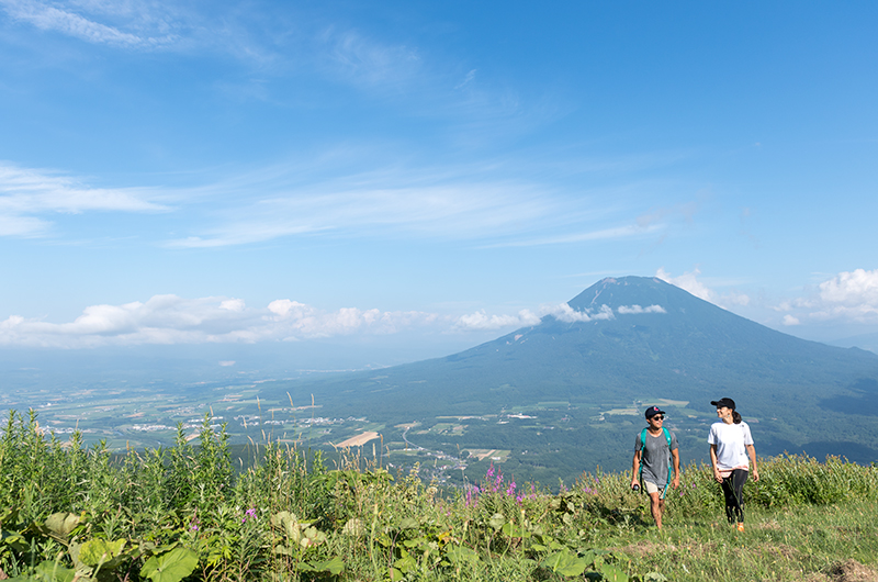 Discover a different side of Niseko's mountains