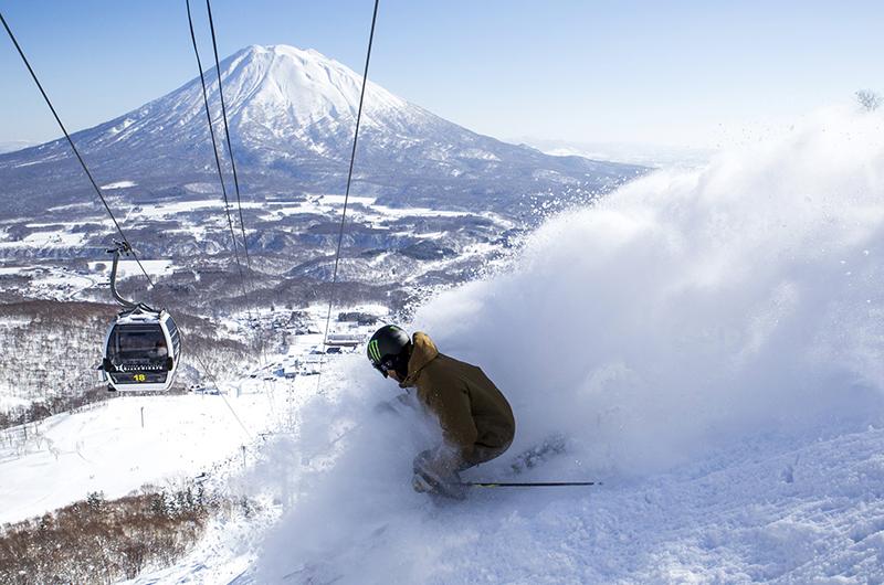 niseko united powder skiing mt yotei