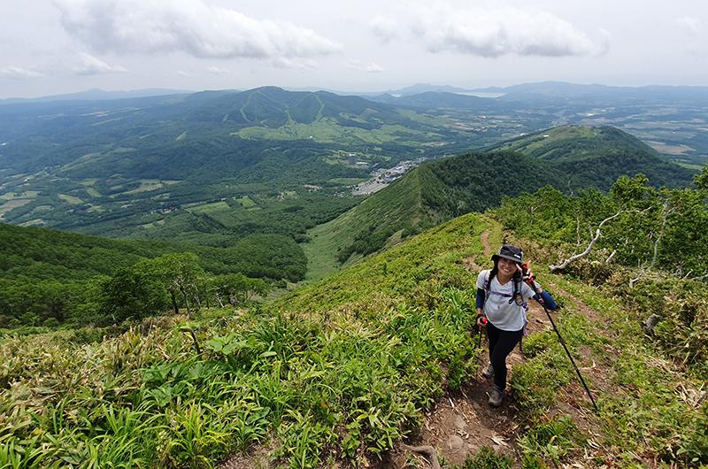 hiking shiribetsu dake niseko japan