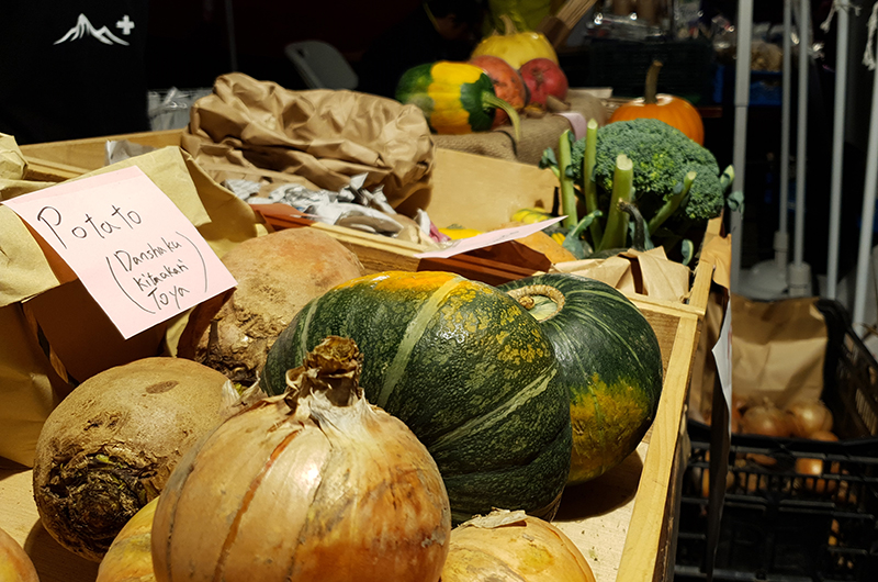 niseko autumn food festival fresh produce
