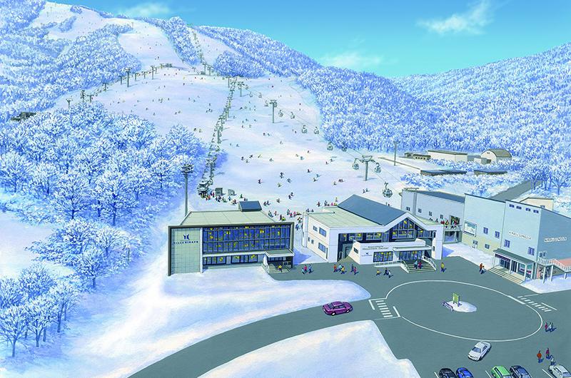 niseko grand hirafu mountain center annex gondola