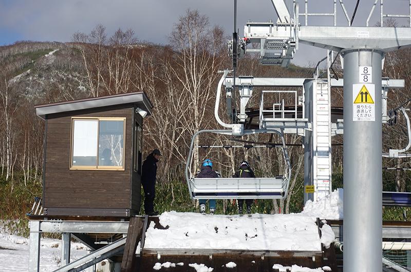 niseko united opening day top lift