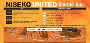 niseko united shuttle bus 2020