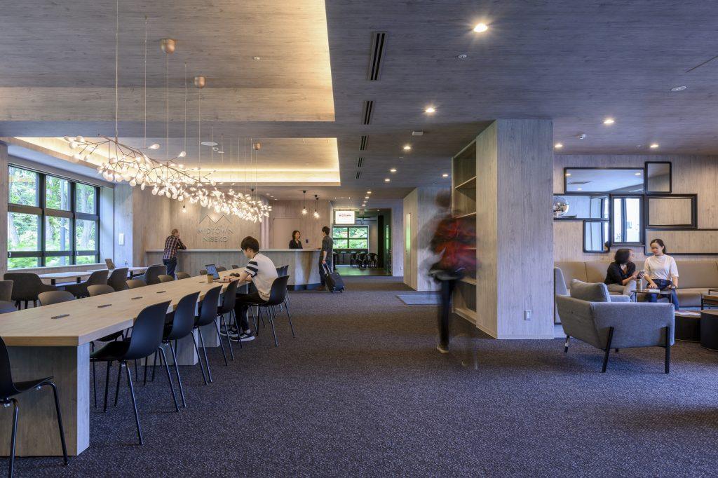Lobby of Midtown Niseko