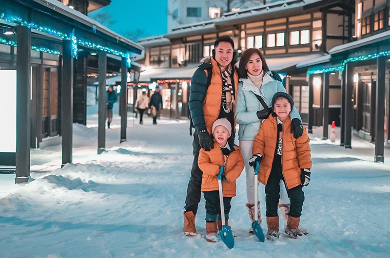 niseko japan family snow