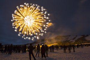 niseko united annupuri fireworks new years