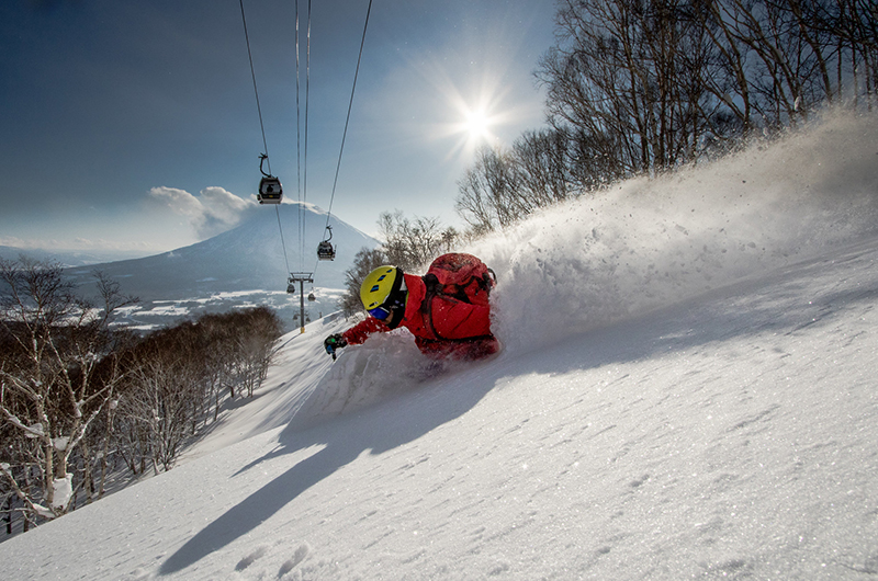 niseko japan snow mt yotei powder skiing