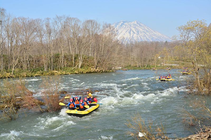 niseko japan spring river rafting hanazono