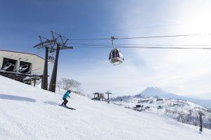 niseko annupuri resort sping skiing
