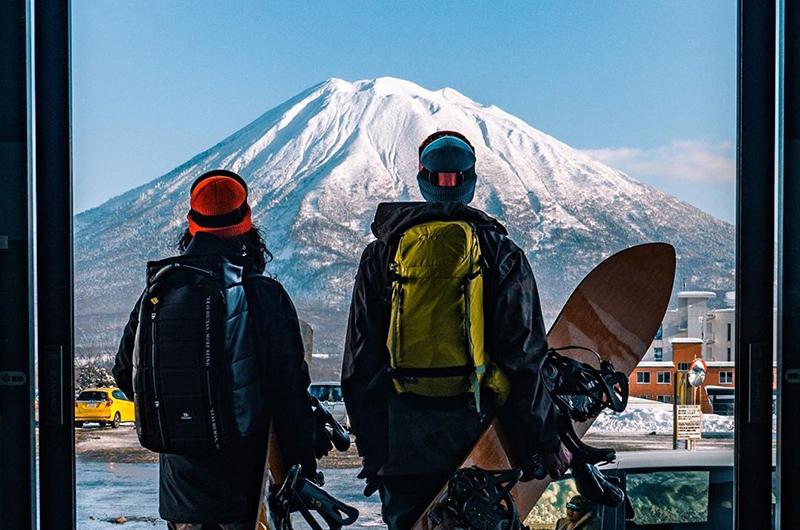Jamie OBrien Niseko Japan Mt Yotei
