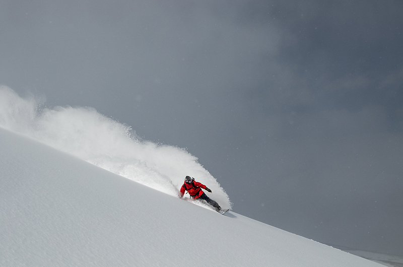 niseko japan deep powder snowboarding