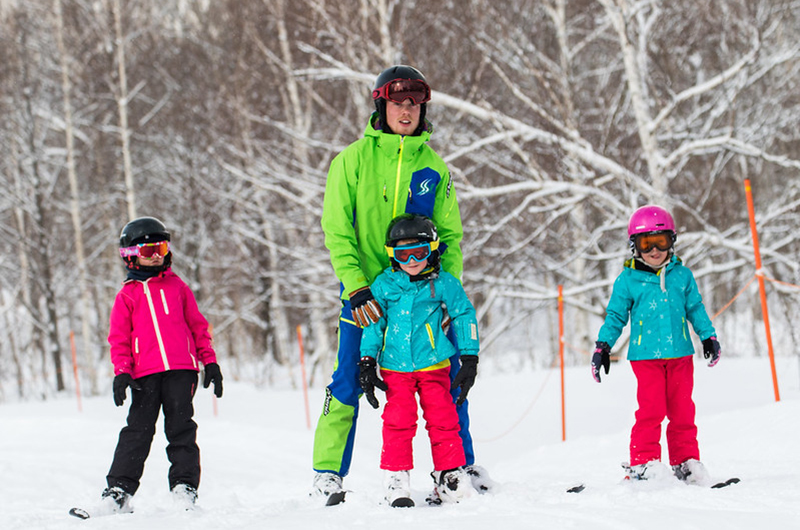 niseko united ski school japan kids
