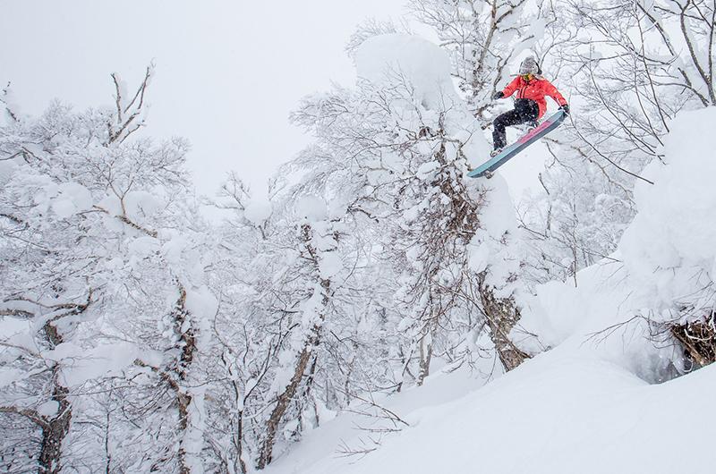 Stellar Media Niseko Japan Powder snowboarding