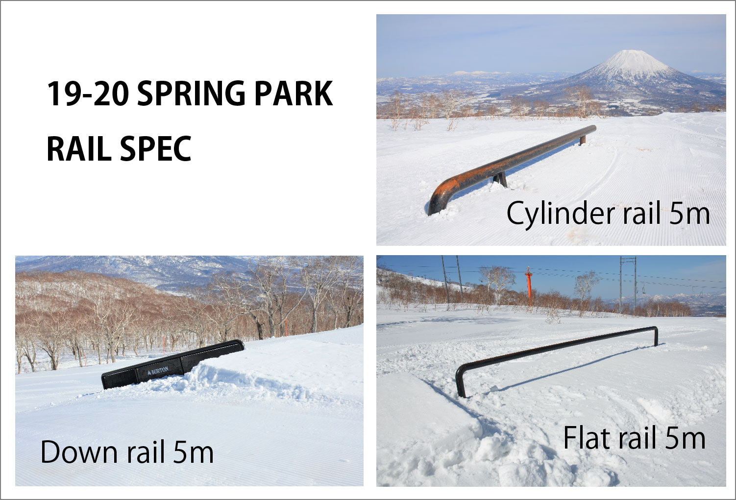 niseko japan spring park rails