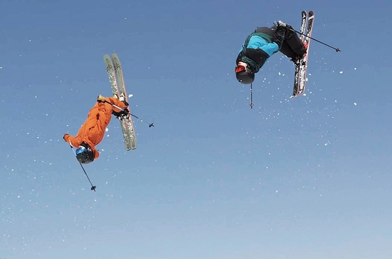 niseko japan spring park backflip