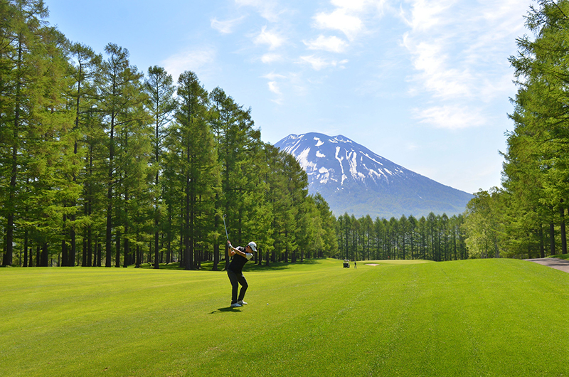 niseko village golf japan spring