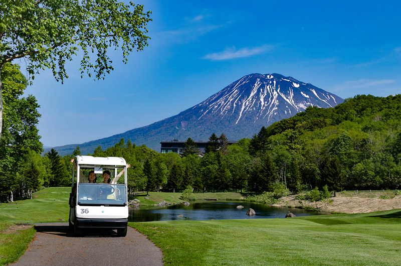 Hanazono Niseko golf cart tour