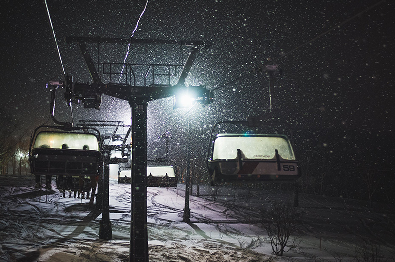 niseko japan annupuri night skiing