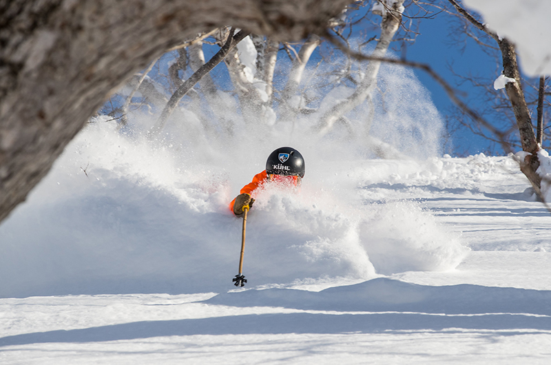 Niseko Japan deep powder skiing hanazono