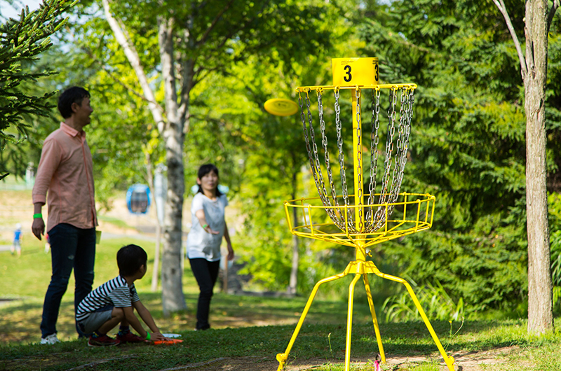 niseko village pure disk golf