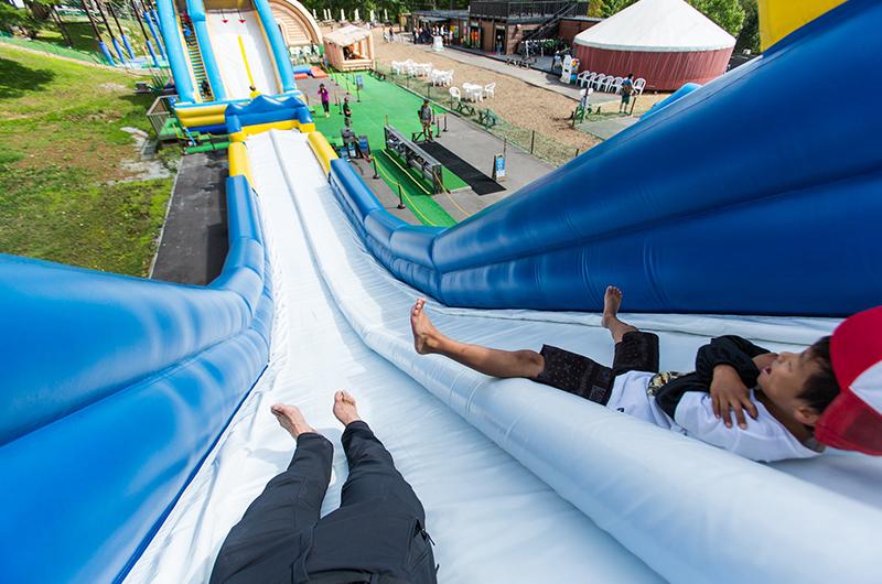 niseko village pure slide