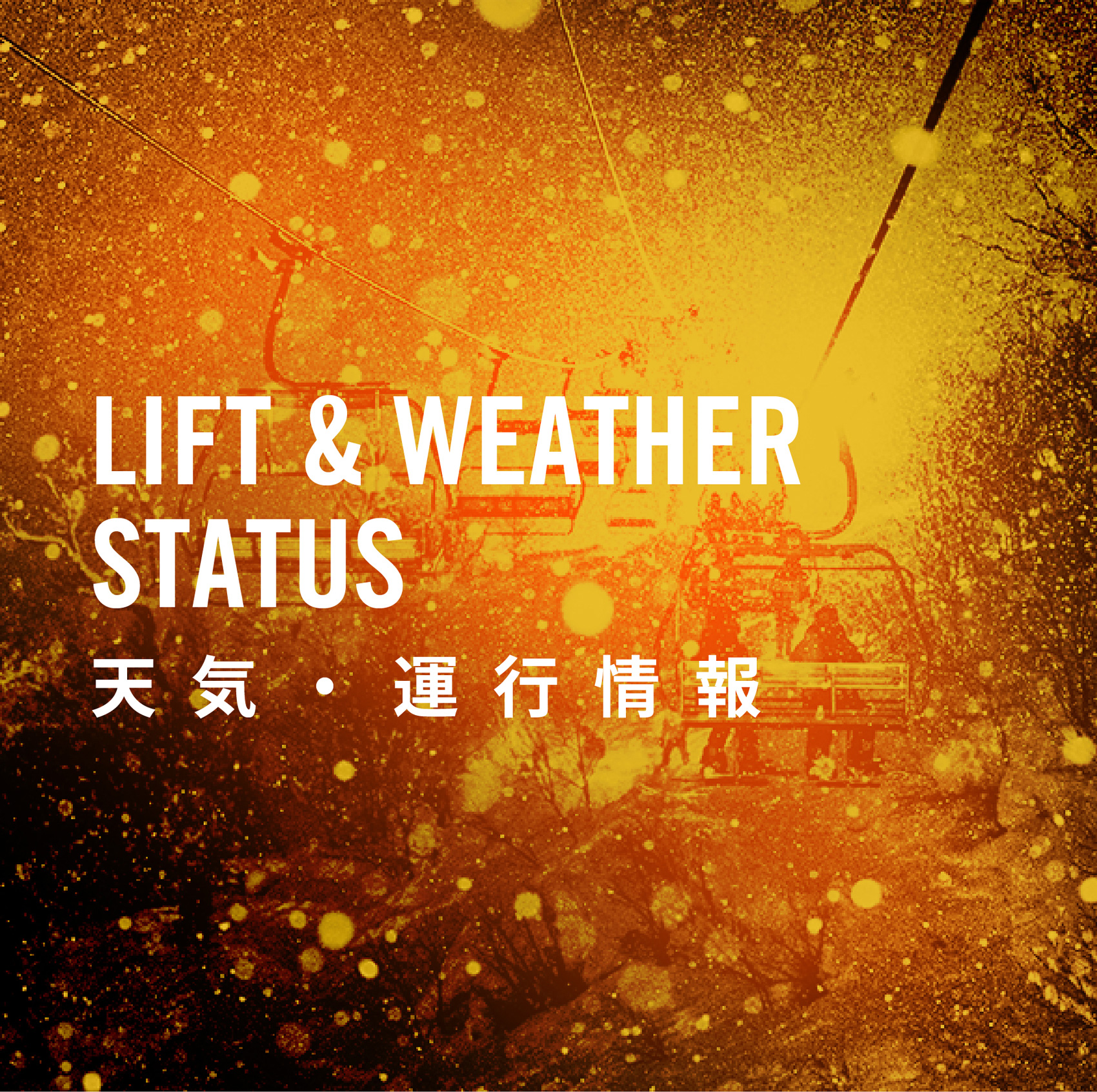 LIFT AND WEATHER STATUS