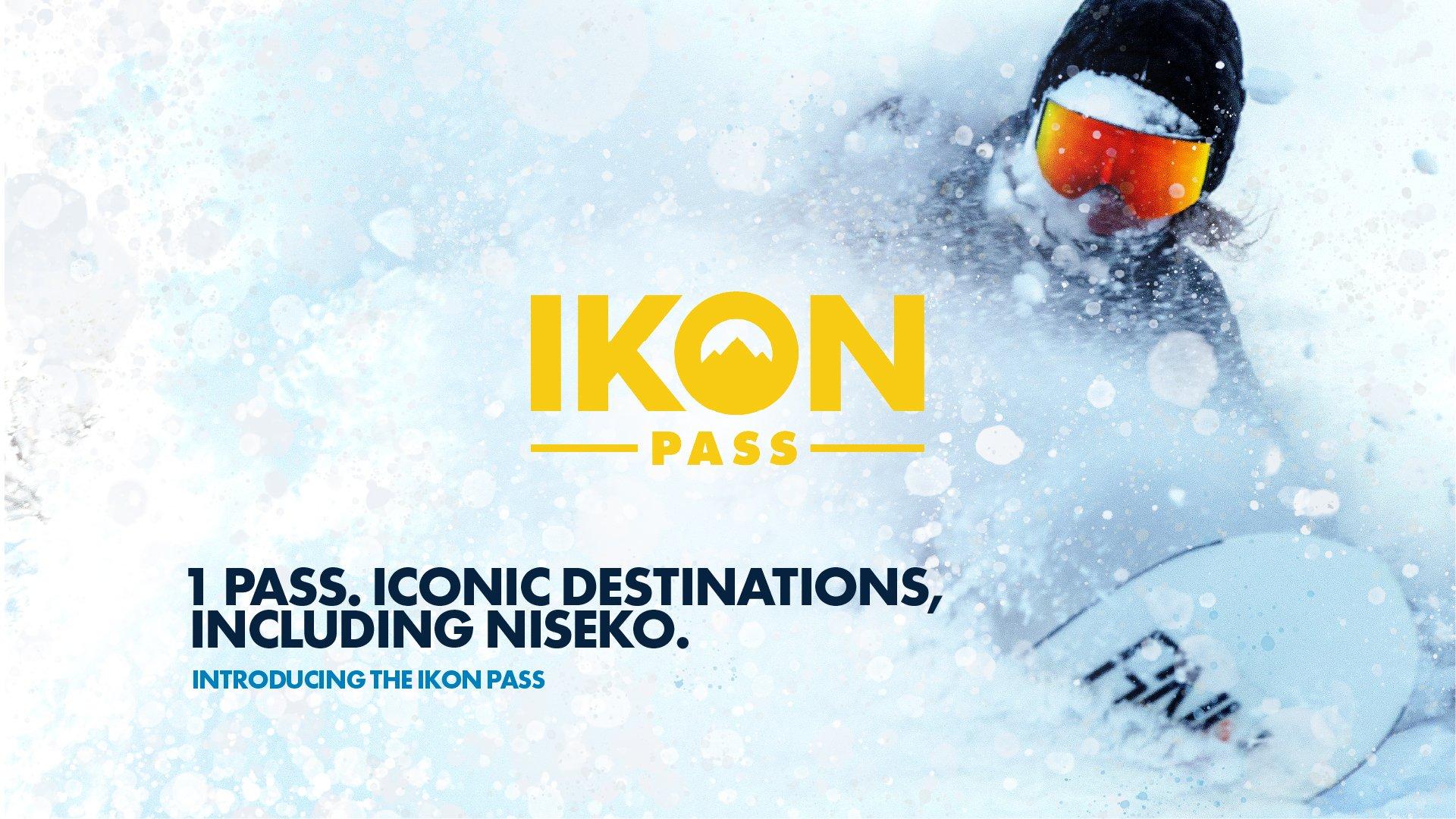 ニセコユナイテッドが Ikon Pass に加盟しましたの画像